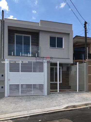 Sobrado Para Venda Em Ponta Grossa, Palmerinha, 3 Dormitórios, 1 Suíte, 2 Banheiros, 1 Vaga - _1-1733208
