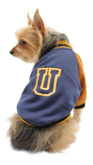 Chamarra Universitaria Perro Universidad Talla 2 Pet Pals