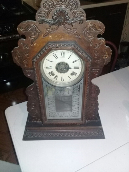 Reloj Antiguo De Péndulo Madera Cedro