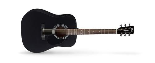 Imagen 1 de 7 de Guitarra Electroacústica Cort Ad810e-bks Eq Y Funda Original