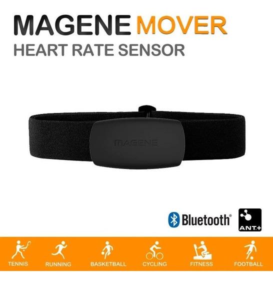 Cinta Cardíaca Bluetooth Ant+ Magene Strava Bryton Garmin