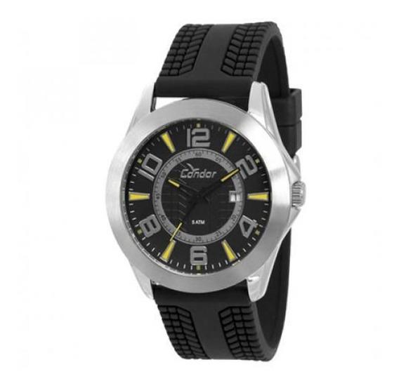 Relógio Masculino Com Pulseira De Silicone Co2115ts/8p