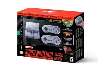 Super Nintendo Classic Edition - Snes Mini Sellada Garantia