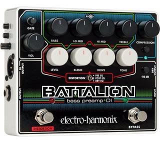 Pedal Electro Harmonix Battalion Bass Preamp Di