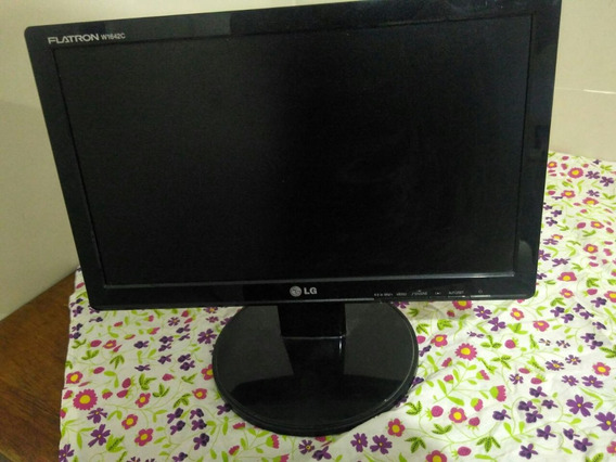 Monitor LG Lcd Widescreen 15,6 W1642c / Cabos Inclusos