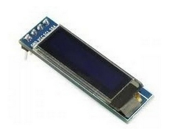 Display Oled 128x32 0.91 I2c Ssh1106 - Arduino Pic Pi Mona