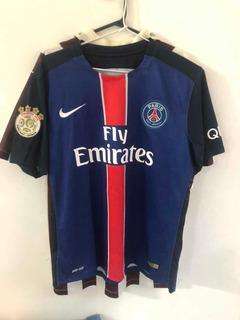 Camisa Paris Sant Germain Lucas Feminina M Oficial Inteira