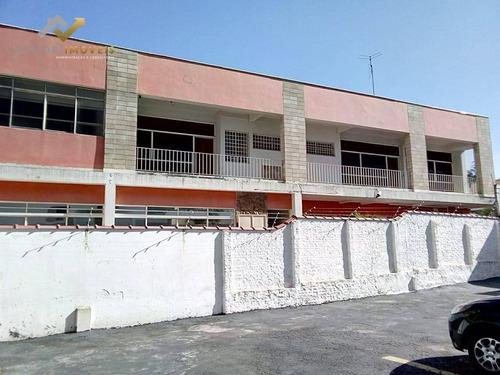 Salão Para Alugar, 383 M² Por R$ 13.900,00/mês - Centro - Santo André/sp - Sl0024