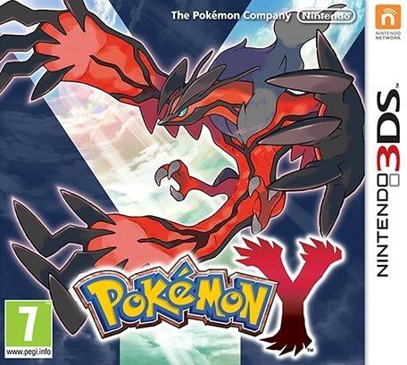 Pokémon Y 3ds Mídia Física Novo