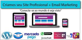 Criação De Site Responsivo + Email Marketing + Social Mídia