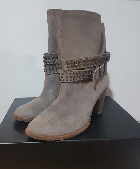 Zapatos- Botas-35-36- Paruolo- Prune- Rapsodia- Clarabarceló