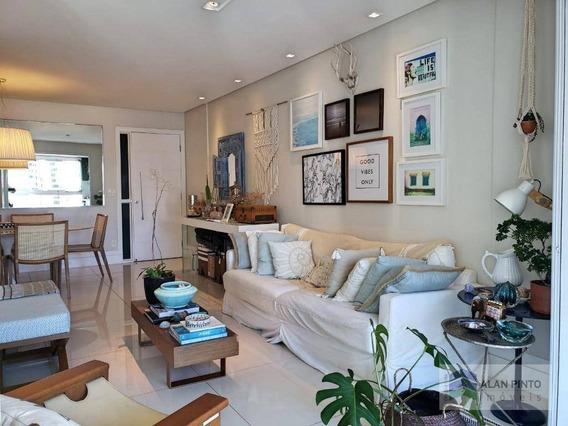 Apartamento Com 3 Dormitórios À Venda, 103 M² Por R$ 780.000 - Pituba - Salvador/ba - Ap0406