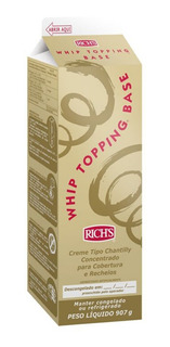 Crema Whip Topping® Base - Rich