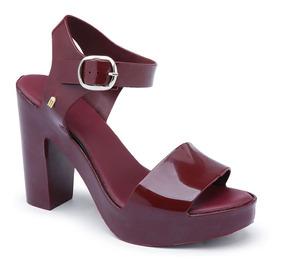 Sandalia De Salto 11 Cm Feminina Mar Heel