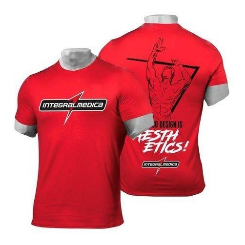 Camisa Dry Fit Vermelha - Integralmedica
