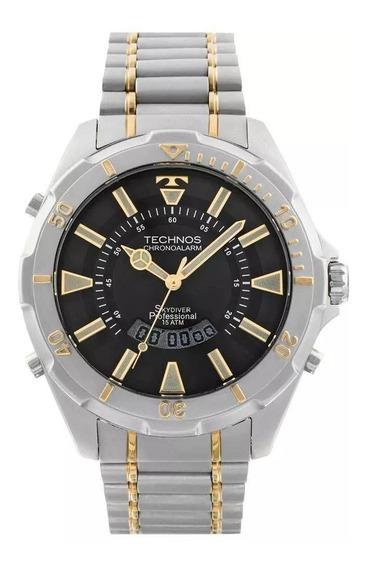 Relógio De Pulso Technos Bicolor Digiana T205fq/5p