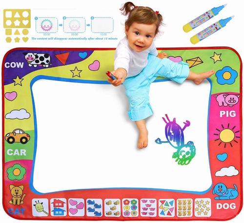 Imagen 1 de 8 de Tapete Para Dibujar Con Agua Para Niños