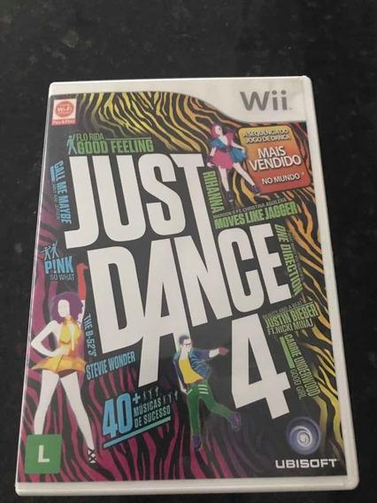 Jogo Nintendo Wii E Wii U Just Dance 4 Original Mídia