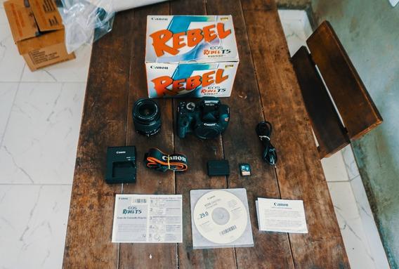 Canon T5 Na Caixa +lente 18-55mm + Cartão 16gb+ Frete Grátis