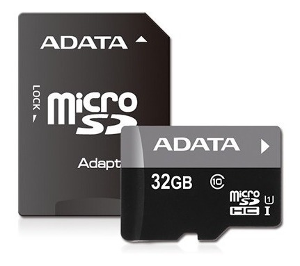 Memoria Micro Sd 32 Gb Clase 10 Premier + Adaptador - Adata