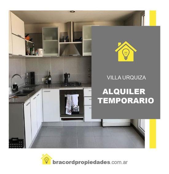 Alquiler Temporario- Mono Ambientes Dividido -villa Urquiza