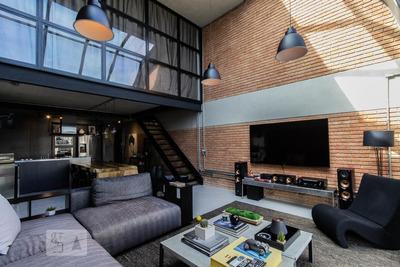 Apartamento No 14º Andar Mobiliado Com 1 Dormitório E 2 Garagens - Id: 892891681 - 191681