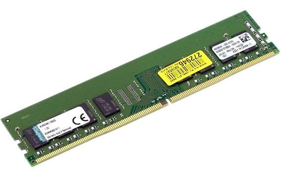 Memória Kingston Ddr4 2400mhz 8gb Kvr24n17s8/8 Pc Desktop