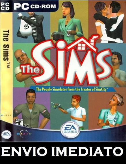 The Sims 1 Coleção Completa Pc - Mídia Digital + Brinde