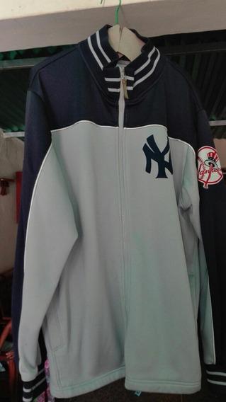 Chaqueta De Los Yankee De New York Original Majesti Nueva