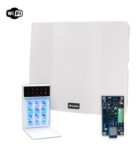 Alarma Domiciliaria Comunicador Ip-500 Wifi Internet