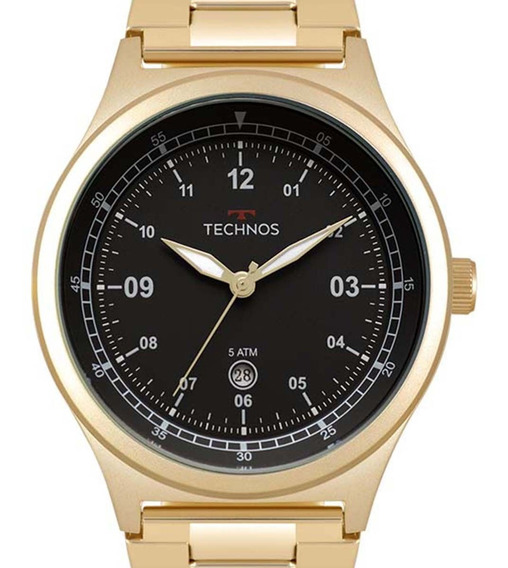 Relógio Technos Performance Masculino 2115mqy/4p + Nfe