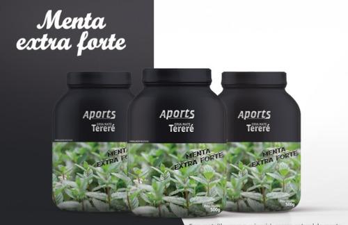 Erva-mate Para Tereré Sabor Menta Extra Forte 500 G - Aports