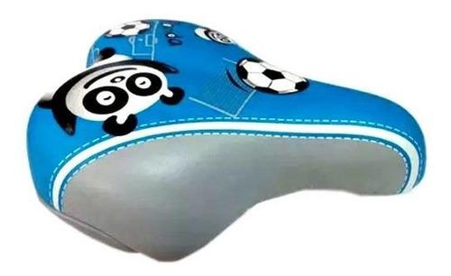 Imagem 1 de 1 de Selim Ddk 1216 Panda Kids Azul Infantil Masculino