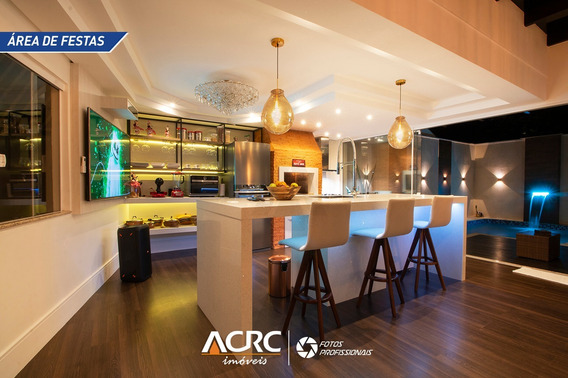 Acrc Imóveis - Casa De Alto Padrão Com Piscina E Mobiliada Para Venda No Bairro Itoupava Norte - Ca01312 - 34946141