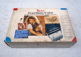 Scanner De Mão Genius - Antiguidade / Coleção - Scanmate