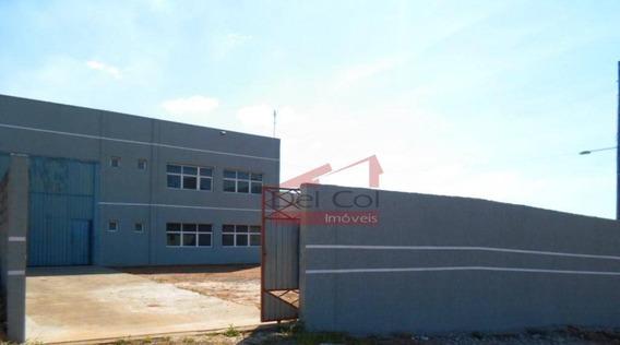 Galpão À Venda, 600 M² Por R$ 1.400.000 - Centro Industrial Rafae - Bragança Paulista/sp - Ga0004