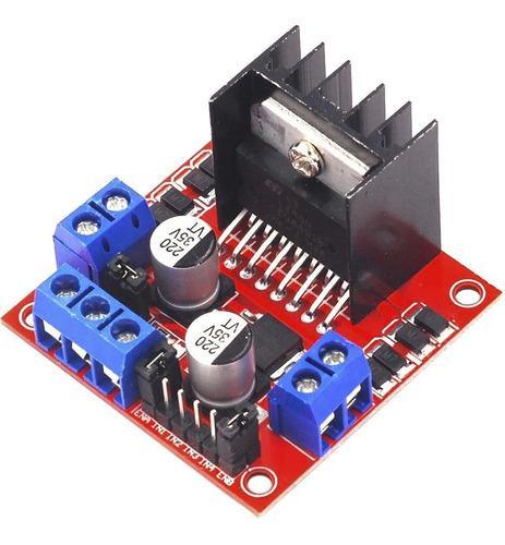 Imagen 1 de 6 de Modulo Puente H L298 Motor Driver Arduino Pic Raspberry