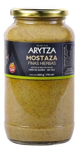 Mostaza Gourmet Arytza Finas Hierbas 850g. 100% Natural