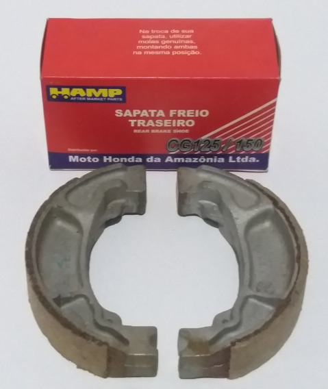 Sapata Lona Freio Titan/fan/bros/biz 125/150/160 Cb300- 4 Un