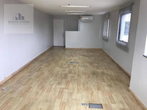 Imagem 1 de 18 de Sala Para Alugar Em Moema, Avenida Iraí, 79, 40 M² - São Paulo/sp - Sa0473