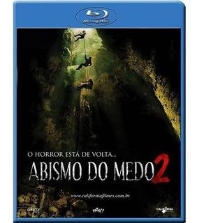 Blu-ray Abismo Do Medo 2 - Novo Lacrado***