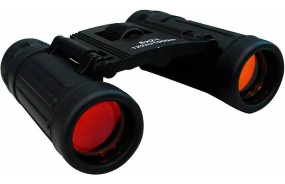 Binóculo 8x21mm 122/1000 Com Estojo E Alça Hunter Ntk