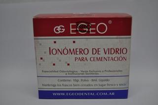 Ionomero Vitrio Egeo Para Cementacion Avio Odontologia