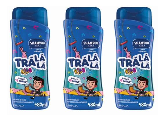 Tralálá 2em1 Shampoo 480ml (kit C/03)
