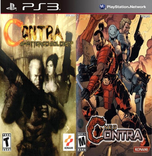 Neo Contra + Contra: Shattered Soldier Ps3 Digital 2en1