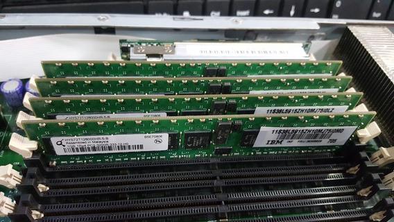 Kit 4 Memoria 1gb Ddr2 Ecc Ibm Fru 39m5808 Xserie 336