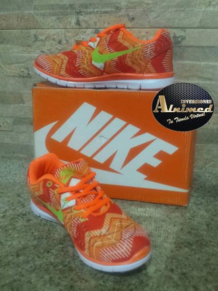 Zapato Nike Free 5.0 Dama #36 Remate Pega Vencida 7$(inv Al