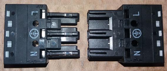 Winsta770 Conector 3 Polos 25a Wago (10 Unid.)