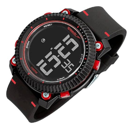Relógio Speedo Masculino Preto Original Garantia 1 Ano C Nfe