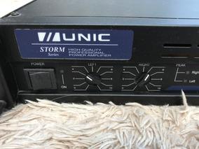 Amplificador Potência 300w Unic Zx300 Bi-volt